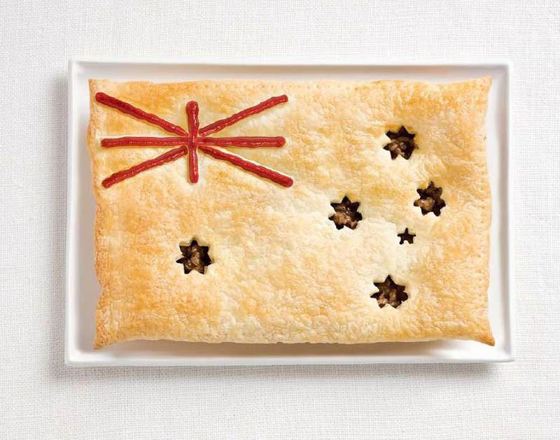 Αυστραλία - Κρεατόπιτα και σάλτσα