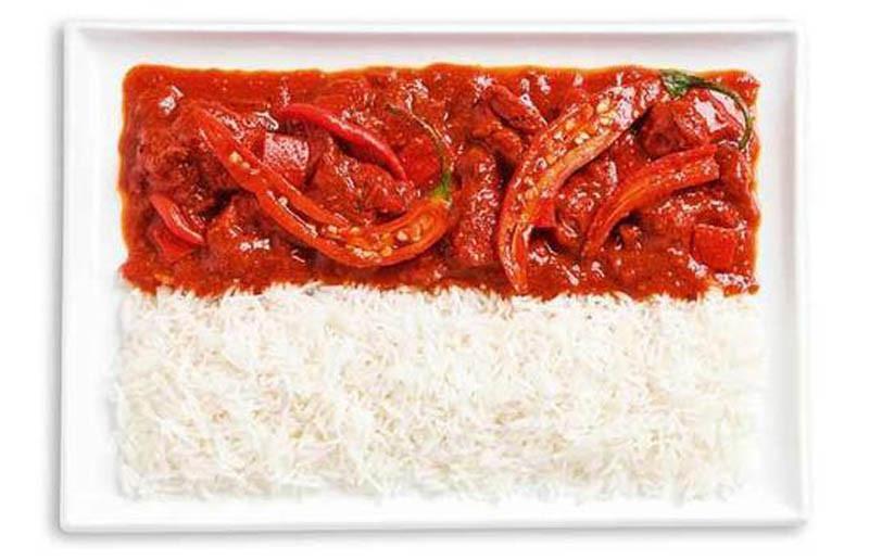 Ινδονησία - Κάρυ και ρύζι