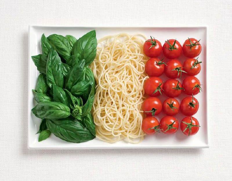 Ιταλία - Βασιλικός, μακαρόνια και ντοματάκια