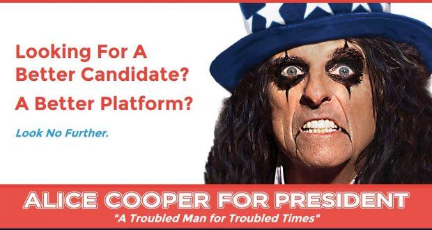 Alice Cooper President