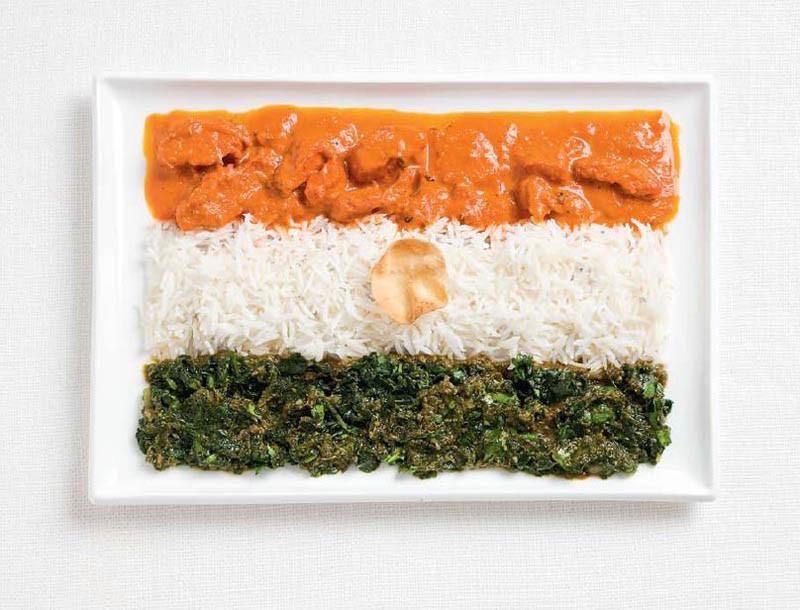 Ινδία - Κοτόπουλο με κάρυ, ρύζι, σαφράν