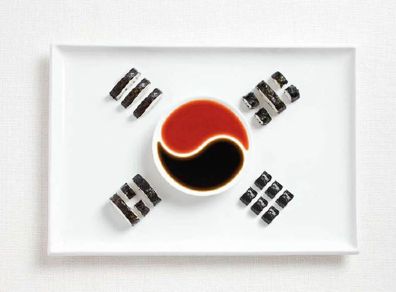 Νότια Κορέα - Kimbap και σάλτσες