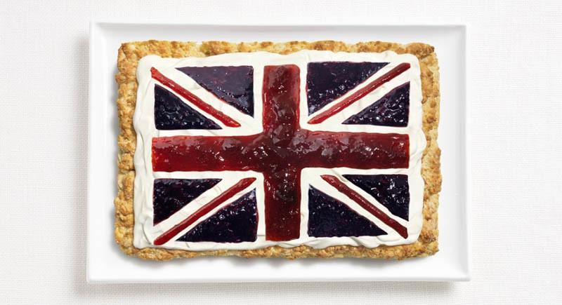 Αγγλία - Μπισκότο, κρέμα γάλακτος και μαρμελάδες