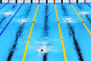 #21 Η1 19χρονη Κέιτι Λεντέκι εξαφανίζει στην κυριολεξία τον ανταγωνισμό της στα 800 μέτρα ελεύθερης κολύμβησης στον τελικό.