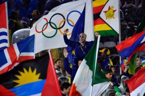 #37 Παρέλαση αθλητών στην λήξη των Ολυμπιακών Αγώνων.