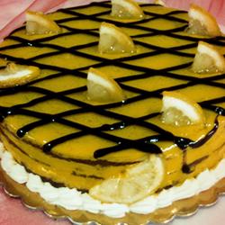 τούρτα λιμοντσέλο,τούρτα γεύση λεμόνη