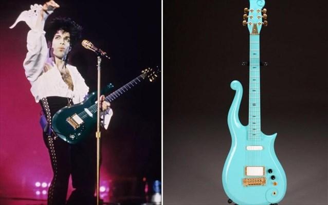 μπλε κιθάρα του Πρίνς